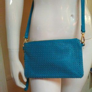 Charming Charlie Crossbody With Wristlet Strap